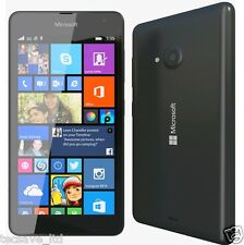 BRND NEW NOKIA LUMIA 535 BLACK 8GB WINDOWS 8.1 GENUINE  LOCK ON 02 SMART PHONE