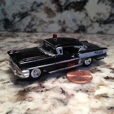 RACING CHAMPIONS 58 CHEVY IMPALA DIE CAST CAR 1/64 SCALE 1958 CHEVROLET POLICE