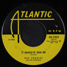 RAY CHARLES: It Should've Been Me / Sinner's Prayer 45 (tiny label tear) rare B
