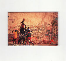 MICHAEL JORDAN / PLAYGROUND DUNK FRIDGE MAGNET (costacos poster chicago nike air