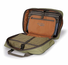 Fishpond Tomahawk Fly Tying Kit Case Aspen Green Bag