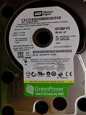 Western Digital 1 TB WD1000FYPS-01ZKB1 DCM:HBRCHV2ABB | 04MAY2009 | Festplatte