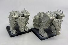 Warhammer  Chaos  Bloodcrusher lot of 2 metal long OOP no riders khorne rogue