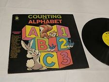 Counting song Alphabet song Nursery party Peter Pan LP Album RARE Record vinyl