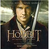 THE HOBBIT: AN UNEXPECTED JOURNEY (OST) 2 CD SOUNDTRACK NEW, UNSEALED