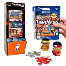 "TeenyMates NBA 1"" Mini-COLLECTIBLE BASKETBALL FIGURES 1 Box of 32 Packages"