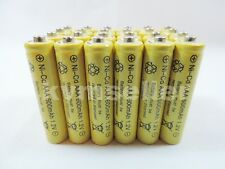 25 pcs AAA rechargeable 600mAh Ni-Cad Batteries for Solar-Powered Lights B25