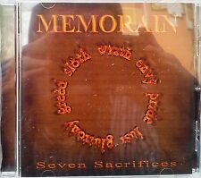 Memorain - Seven Sacrifices (CD 2013) (Metal)