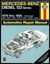 Mercedes-Benz Diesel 123 Series: 1976 thru 1985: 4 & 5 cyl (Haynes Repair Manual