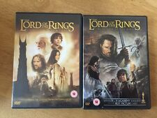 The Lord Of The Rings The Two Towers & The Return Of The King 2 Dvds