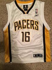 Indiana Pacers Peja Stojakovic Basketball Jersey Youth Boys Medium Reebok #16