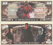 X-Men Magneto Million Dollar Collectible Funny Money Novelty Note