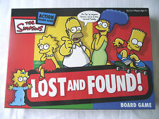 THE SIMPSONS BOARD GAME LOST & FOUND / COMPLETE / EXCELLENT