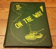 "CLASS 5 CO ""E"" ARMOR O.C.S. ON THE WAY FT. KNOX YEARBOOK 1951 WILLIAM H. WOOD"