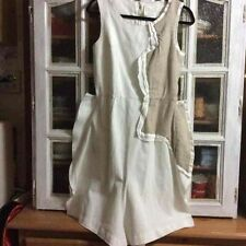 COMME des GARCONS remake White polyester deformation one-piece dress Size XS