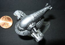 STAR WARS MICRO MACHINES BOBA FETT SLAVE 1  PEWTER COLOR with stand
