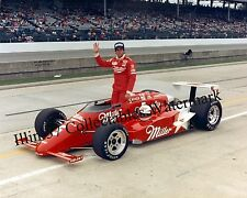DANNY SULLIVAN 1985 INDY 500 WINNER MILLER AUTO RACING 8X10 PHOTO