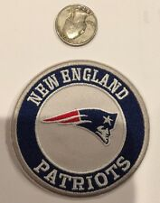 "NEW ENGLAND PATRIOTS EMBROIDERED VINTAGE/RETRO IRON-ON PATCH 3"" ROUND!"