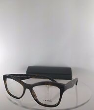 Brand New Authentic Prada Eyeglasses VPR 29R 8AK-101 Havana Tortoise Frame