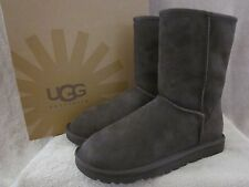 UGG Australia Womens Classic Short Brown Suede Upper Boots Shoes US 6 EUR 37 NWB