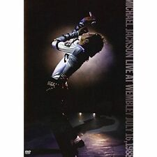 MICHAEL JACKSON Live At Wembley July 16 1988 DVD BRAND NEW NTSC Region All