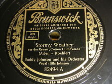 9/1R Buddy Johnson/Ella Johnson - Stormy Weather - I'm in your Power