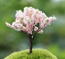 Mini Blossom Tree For Fairy Garden/Dollhouse/Bonsai/Terrarium Craft UK Seller