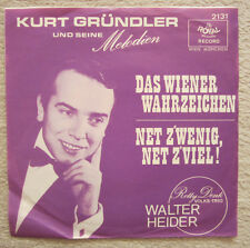 Single / WALTER HEIDER RELLY DENK-VOLKS TRIO / AUSTRIA / RARITÄT /