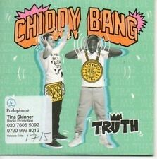 (AR854) Chiddy Bang, Truth - DJ CD
