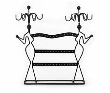 Jewelry Holder Organizer Store Display Stand Metal Hanging Necklace Earring Rack