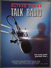 Affiche TALK RADIO Conversations Nocturenes OLIVER STONE Eric Bogosian 40x60cm