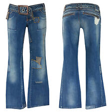 "70er Retro Style ""MISS SIXTY"" Bootcut Jeans +w28-gr.34/36 ""MISS SIXTY"" N. 34"