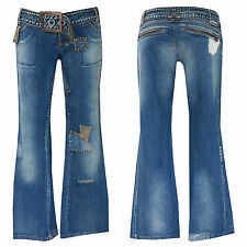 "70er rétro style ""miss sixty"" Bootcut Jeans +w28-gr.34/36 ""miss sixty"" Nº 34"