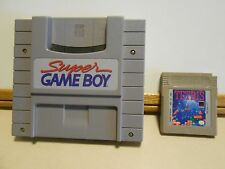 Super Game Boy for Super Nintendo SNES and Tetris Game Boy Game FREE SHIPPING!
