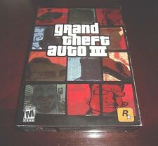 Grand Theft Auto III   (PC, 2002)  FACTORY SEALED RETAIL LONG BOX IN GREAT SHAPE