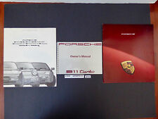 91 1991 Porsche (964) 911 Turbo Owners Manual Driver Book + User Brochures N146