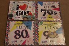 Marek Sierocki Przedstawia I love 60's 70's 80's 90's 8CD POLISH RELEASE SEALED