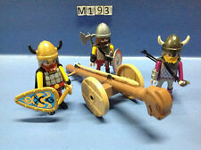 (M193) playmobil Bélier vickings ref 3156 3157 3150 3151 3152 3153