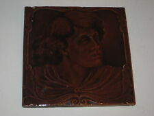 OLD SHERWIN & COTTON PORTRAIT TILE