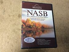 * NEW SEALED DVD * NASB NEW AMERICAN STANDARD BIBLE COMPLETE OLD NEW TESTAMENT *