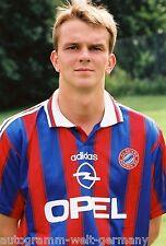 Dietmar Hamann Bayern München 1995-96 seltenes Foto+2