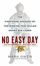 No Easy Day: The Firsthand Account of the Mission That Killed Osama Bi-ExLibrary