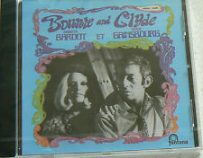 BONNIE AND CLYDE - BARDOT BRIGITTE - GAINSBOURG SERGE (CD)  NEUF SCELLE