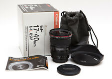Canon EF 17-40mm 17-40 f/4L f/4 f4L f4 L USM Wide Angle Lens - SHARP * USA