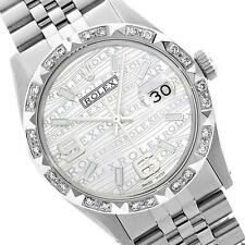 Rolex Ladies Stainless Steel, Arabic Dial with Pyrimid Diam Bezel, S... Lot 5117
