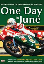 One Day in June (New DVD) Mike Hailwood 1978 Isle of Man TT