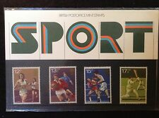 GB Royal Mail 1980 Presentation Pack #121 SPORT - Low S&H