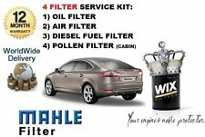 FOR FORD MONDEO 2.2TDCi 03/2008--   SERVICE KIT OIL AIR FUEL POLLEN FILTER KIT