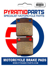 Pyramid Parts Front brake pads for: Honda CB125 CB 125 1983