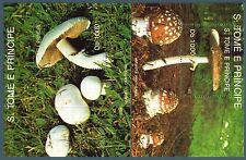 """SAN TOME' - BF - 1992 - """"Amanita panthera"""" - """"Agaricus campestre"""""""